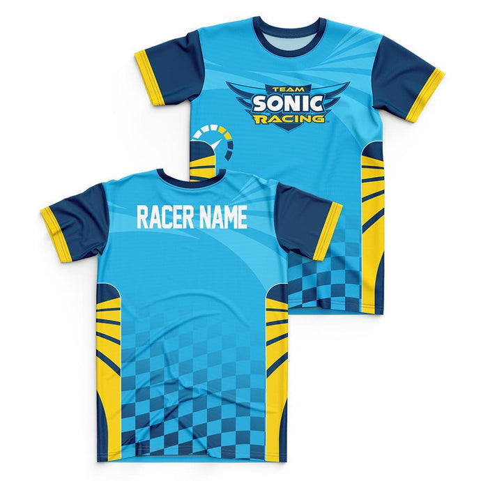 Team Sonic Racing Team Sonic Personalized Jersey Style T-Shirt