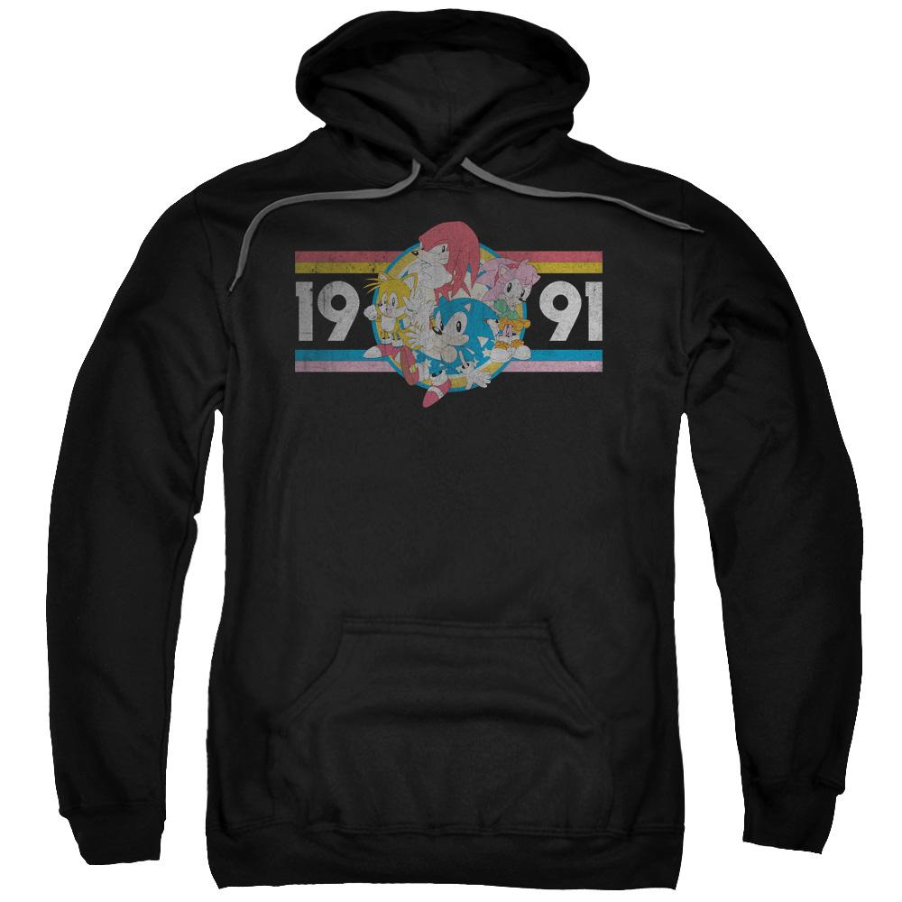 Sonic and Friends Retro Black Hoodie