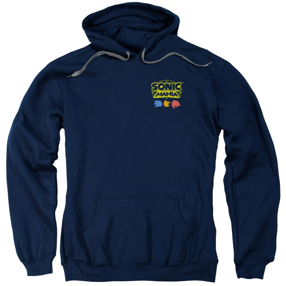 Sonic Mania Chest Logo Navy Hoodie