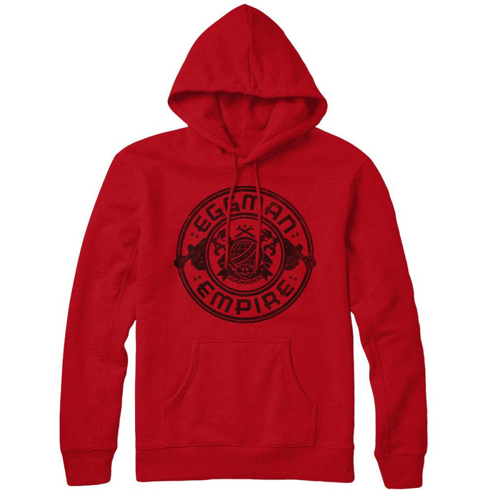 Sonic Forces Eggman Empire Logo Hoodie, Red