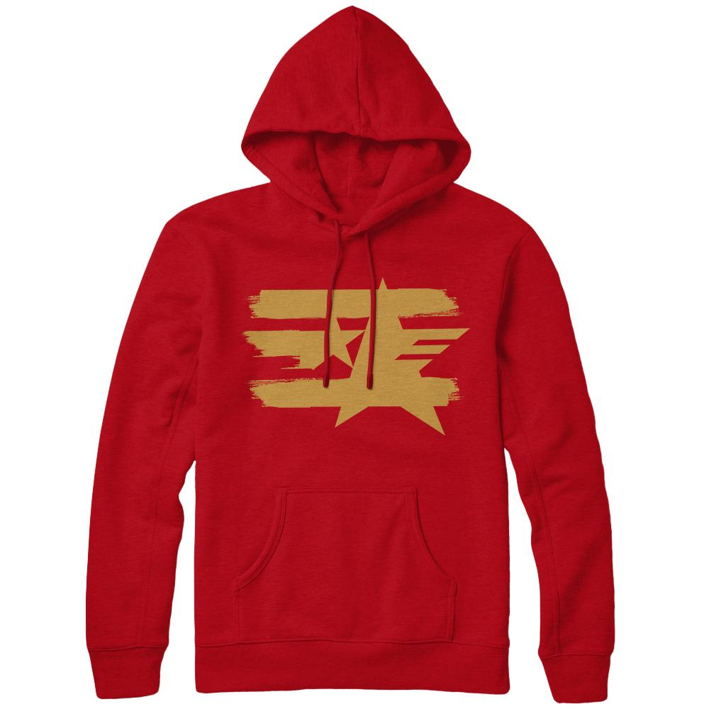 Sonic Forces Uprising Icon Hoodie, Red