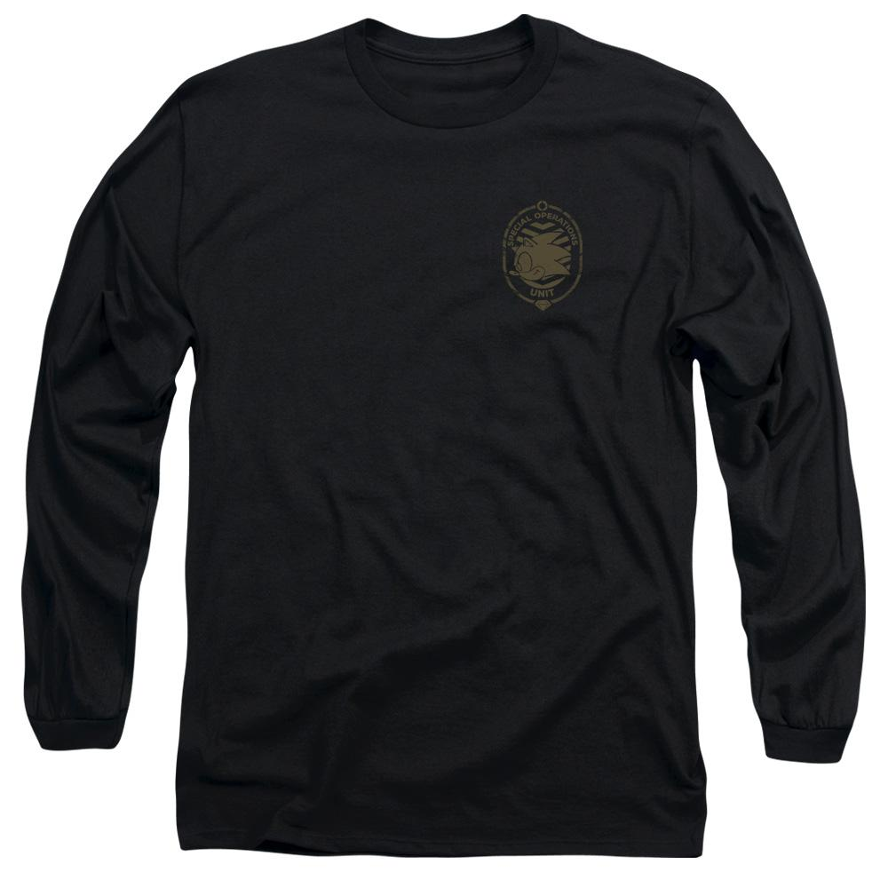 Bootcamp Sonic Special Operations Unit Black Long Sleeve T-shirt