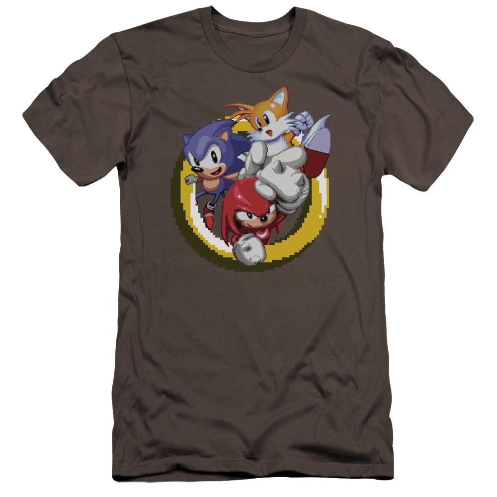 Sonic and Friends Ring Charcoal T-Shirt