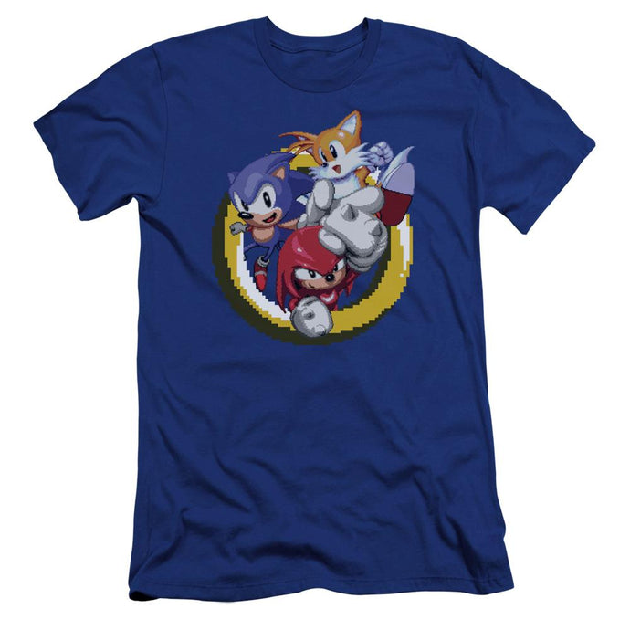 Sonic and Friends Ring Royal Blue T-Shirt
