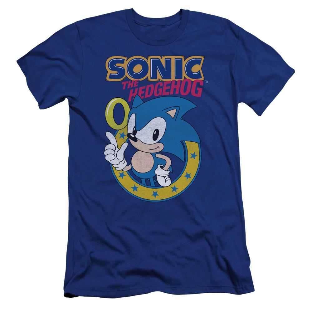 Sonic Ring Royal Blue T-Shirt
