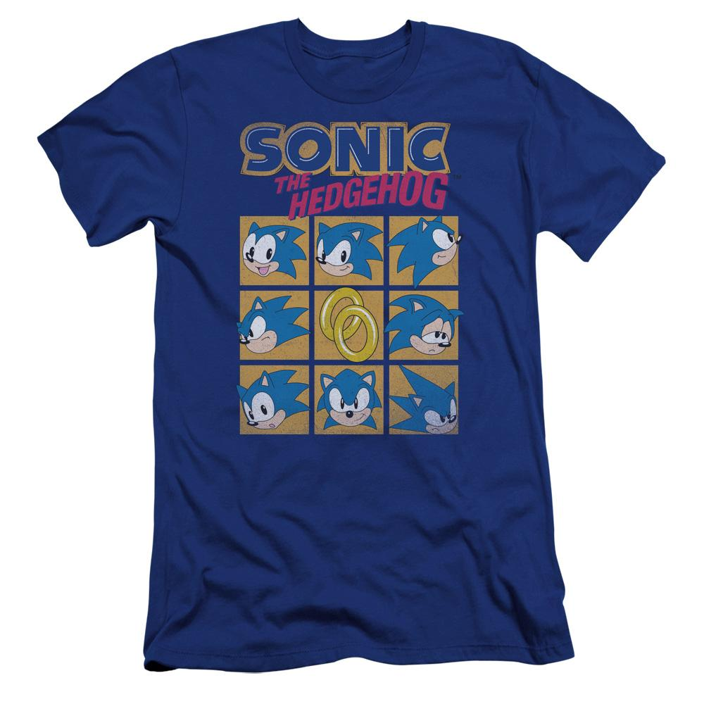 Sonic Square Royal Blue T-Shirt