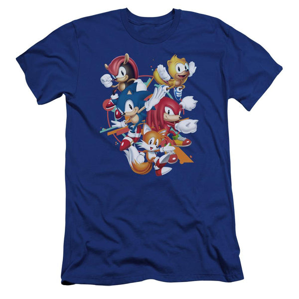 Sonic Mania Plus Formation Blue T-Shirt