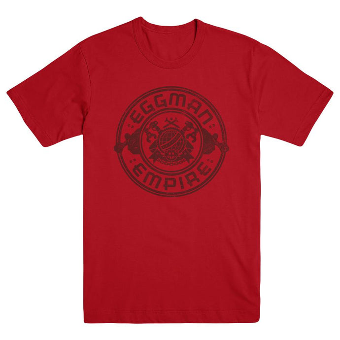 Sonic Forces Eggman Empire Logo Tee, Red