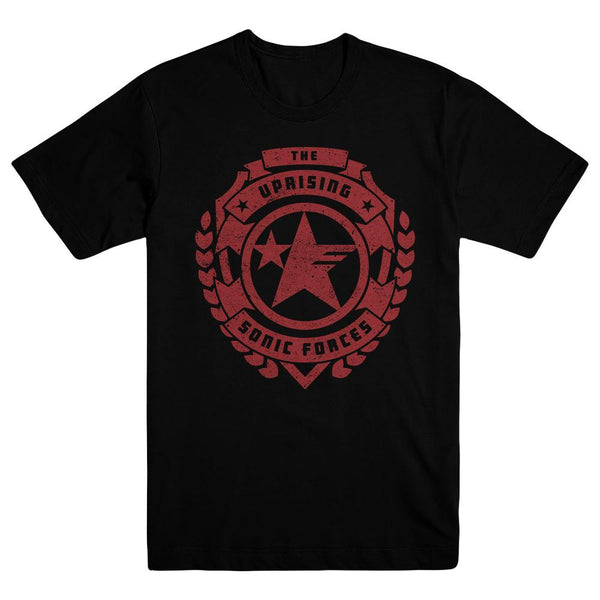 Sonic Forces Uprising Logo Tee, Black
