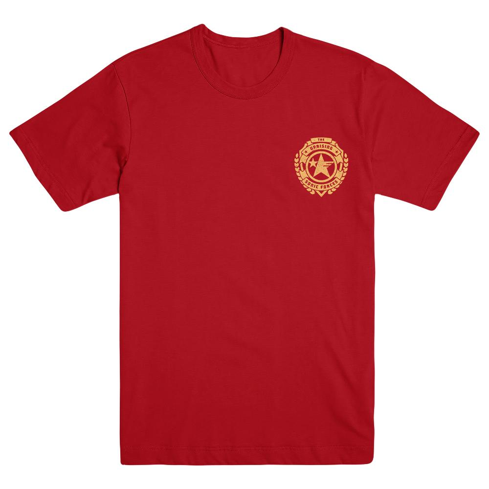 Sonic Forces Uprising Pocket Logo Tee, Red