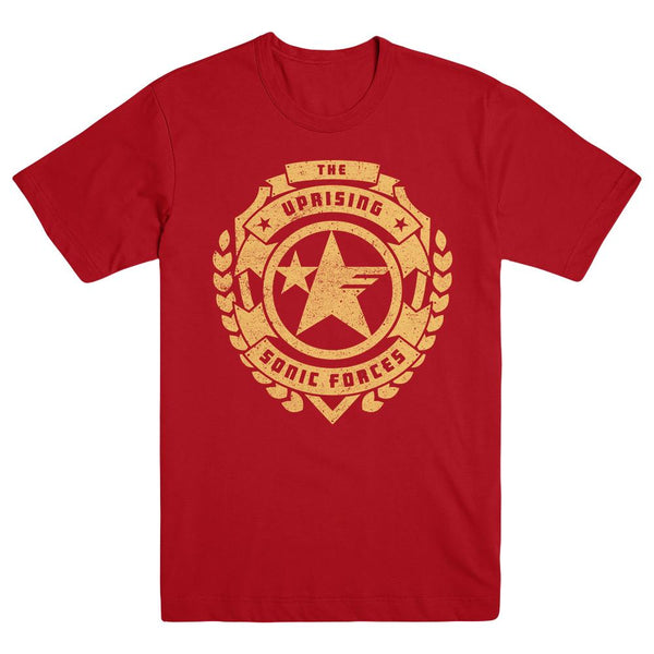 Sonic Forces Uprising Logo Tee, Red