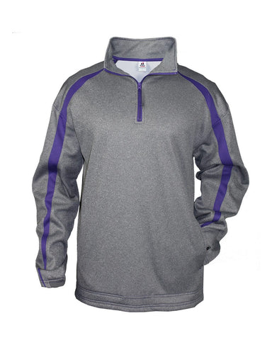 Pro Heather Fusion Perfomance Fleece Quarter-Zip Pullover