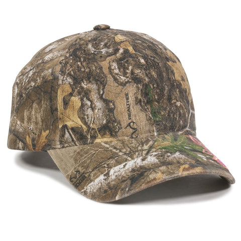 Logoed Realtree Girl Solid Back
