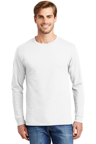 Tagless 100% Cotton Long Sleeve T-Shirt