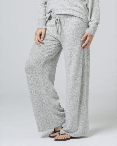Women's Cuddle Fleece Wide Leg Pant