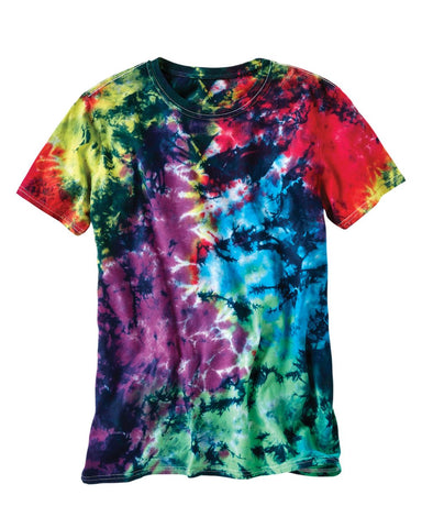LaMer Over-Dyed Crinkle Tie Dye T-Shirt