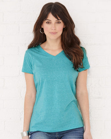 Women's Harborside Melange V-Neck T-Shirt