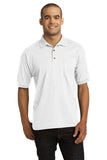 DryBlend 6-Ounce Jersey Knit Sport Shirt with Pocket