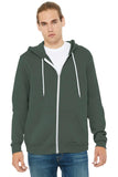 BELLA+CANVAS  Unisex Sponge Fleece Full-Zip Hoodie
