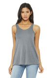 BELLA+CANVAS  Women's Flowy Racerback Tank