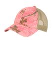 Unstructured Camouflage Mesh Back Cap