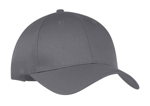Six-Panel Twill Cap