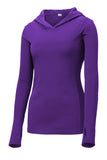 Ladies PosiCharge  Competitor  Hooded Pullover