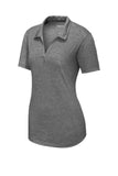 Ladies PosiCharge  Tri-Blend Wicking Polo