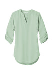 Ladies 3/4-Sleeve Tunic Blouse