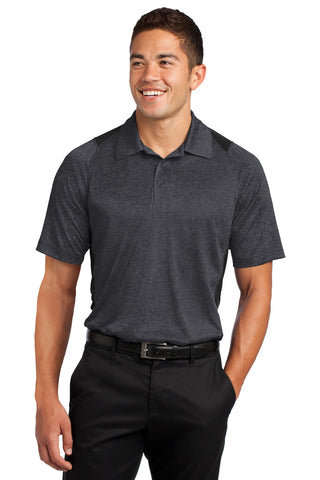 Heather Colorblock Contender Polo