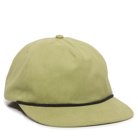 Corded Slouch Snap Back