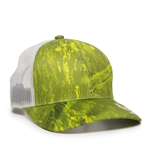 Logoed Realtree Fishing Mesh Back