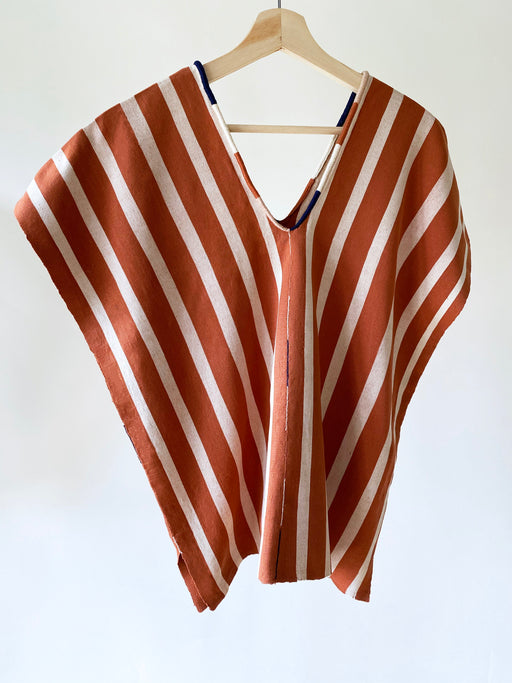 Alma Top Tobacco & Wheat Stripe