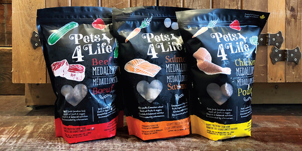 Introducing Pets4Life Frozen Raw Food
