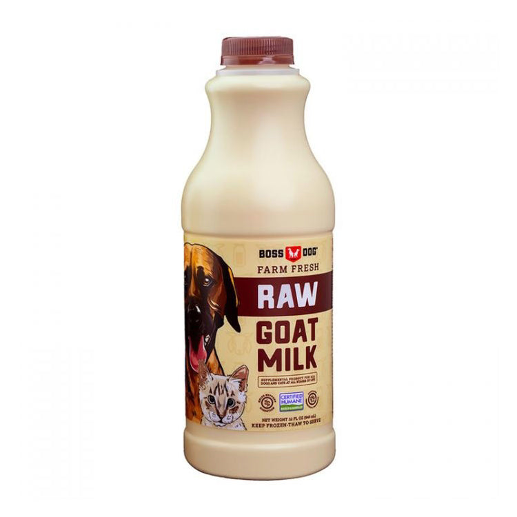 Boss Dog Raw Goat Milk for Dogs