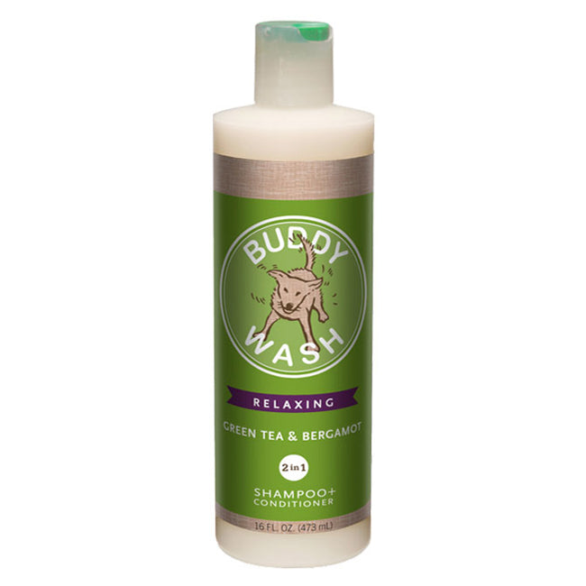 Cloud Star Buddy Wash Green Tea & Bergamot 2-in-1 Shampoo & Conditioner for Dogs