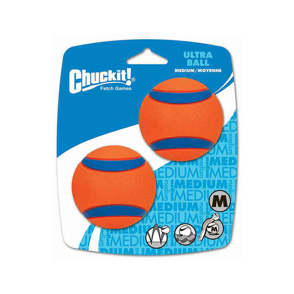 Chuckit! Ultra Ball 2PK Dog Toy