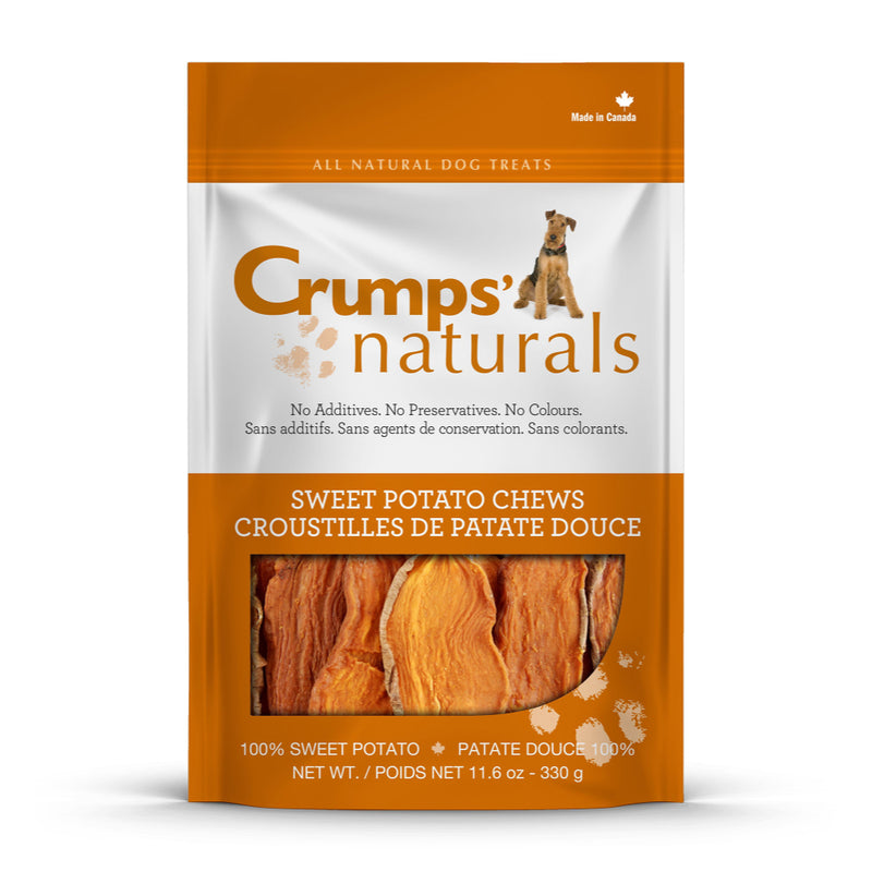 Crumps' Naturals Sweet Potato Chews Dog Treats