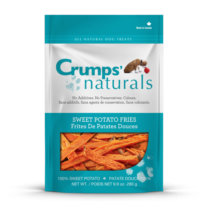 Crumps' Naturals Sweet Potato Fries Dog Treats