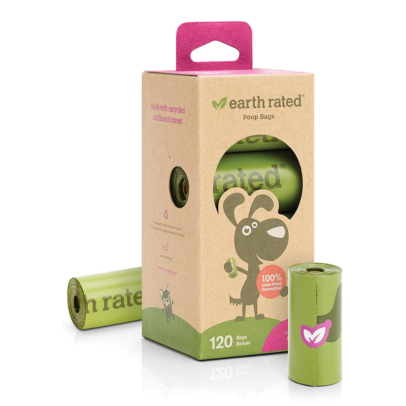 Earth Rated 120 Bags on 8 Refill Rolls, Lavender