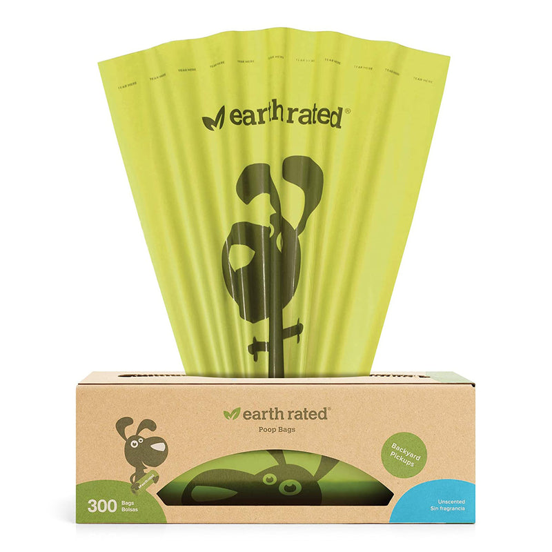 Earth Rated 300 Bags on a Large Single Roll, Unscented