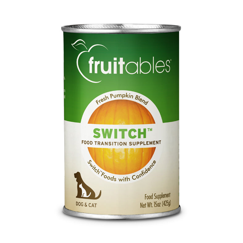 Fruitables Switch Food Transition Supplement Pumpkin Blend Dog & Cat Wet Food