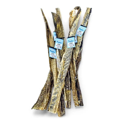 Icelandic+ Long Cod Skin Strips for Dogs