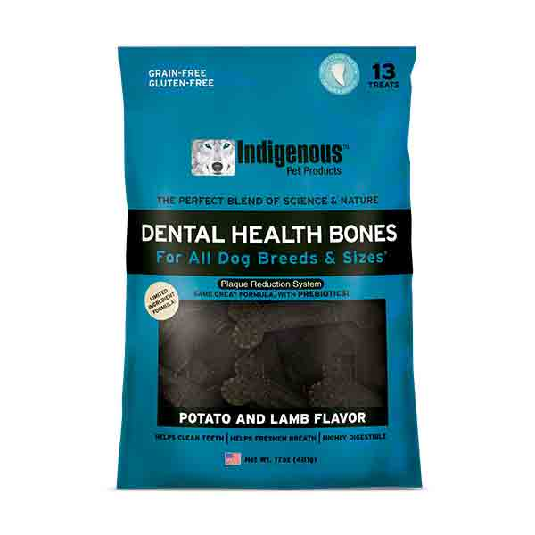 Indigenous Dental Health Bones Potato & Lamb Dog Treats