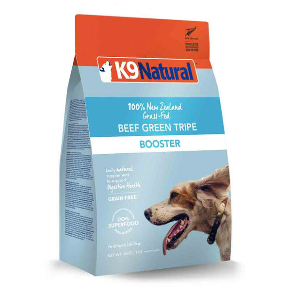 K9 Natural Beef Green Tripe Freeze Dried Booster Dog Food