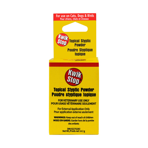 Kwik Stop Topical Styptic Powder for Dogs & Cats