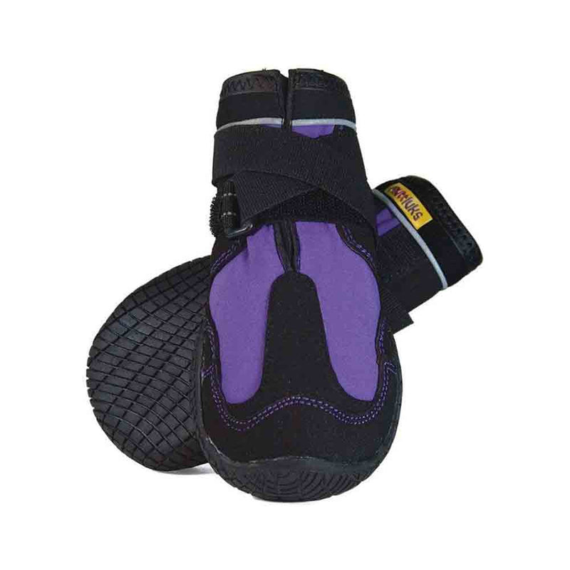 Muttluks Purple Snow Mushers for Dogs