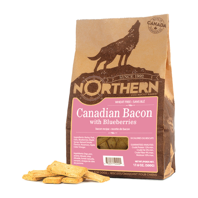 Northern Biscuit Canadian Bacon Dog Treats