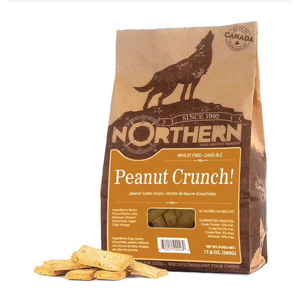 Northern Biscuit Peanut Crunch Dog Treats