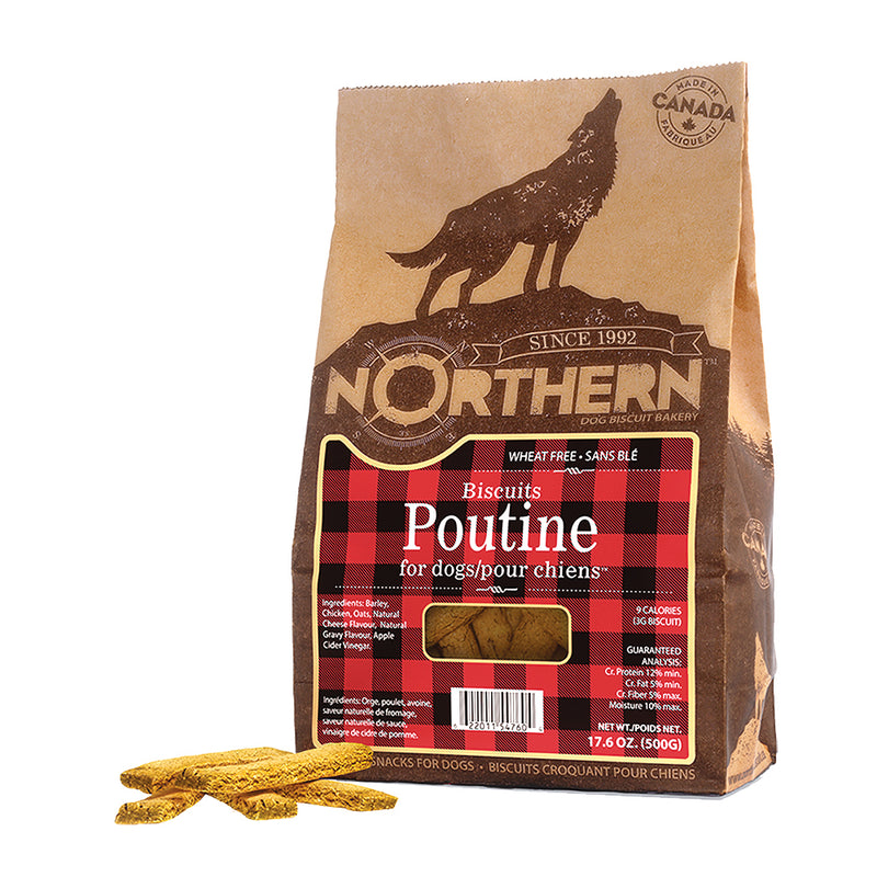 Northern Biscuit Poutine Dog Treats